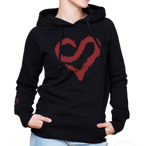 √Logo Heart Red von Sunrise Avenue - Hood sweater jetzt im Bravado Shop