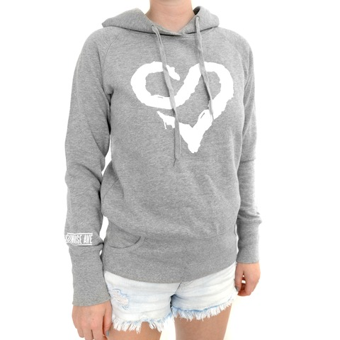 √Logo Heart White von Sunrise Avenue - Hood sweater jetzt im Bravado Shop
