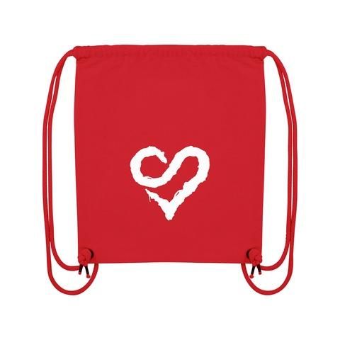 √Logo Heart White von Sunrise Avenue - Gym Bag jetzt im Bravado Shop
