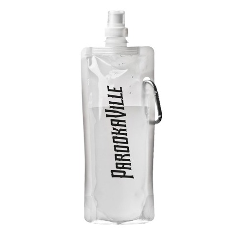 √Logo von Parookaville Festival - Trinkflasche mit Karabiner jetzt im Bravado Shop