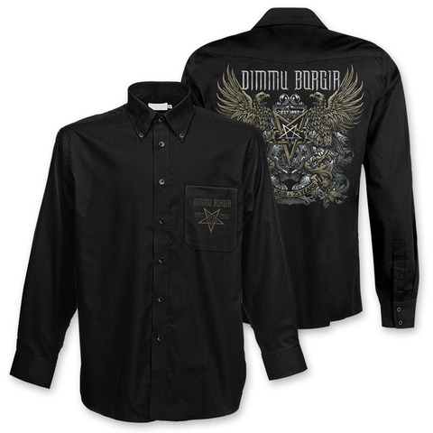 √25 Years von Dimmu Borgir - Polo shirt jetzt im Bravado Shop