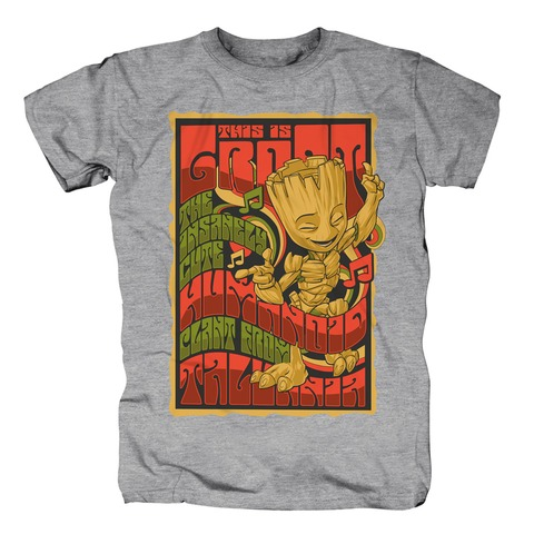 √Groot Experience von Guardians of the Galaxy - T-Shirt jetzt im Bravado Shop