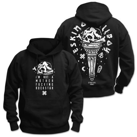 √Motherfucking Rockstar von Eskimo Callboy - Hood sweater jetzt im Bravado Shop