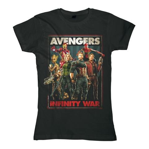 √Infinity War von Avengers - Girlie Shirt jetzt im Bravado Shop