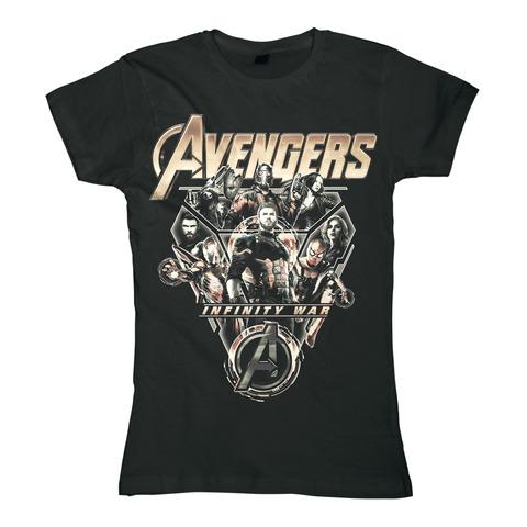 √Tech Ensemble von Avengers - Girlie Shirt jetzt im Bravado Shop
