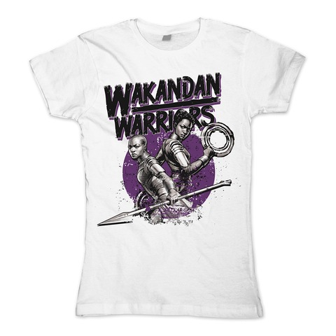 √Female Warriors von Black Panther - Girlie Shirt jetzt im Bravado Shop