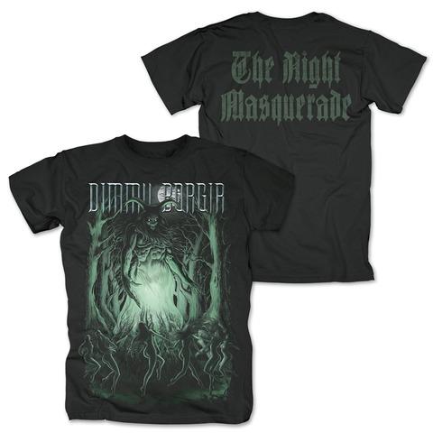 √The Night Masquerade von Dimmu Borgir - T-Shirt jetzt im Bravado Shop