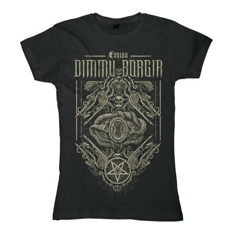 √Eonian Snakes Ornament von Dimmu Borgir - Girlie Shirt jetzt im Bravado Shop