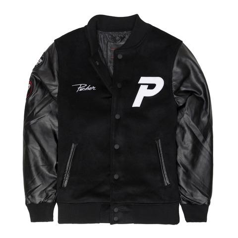 √Varsity Jacket von Pusher Apparel - Jacket jetzt im Bravado Shop
