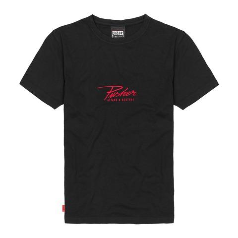 √Attack Small Logo Tee von Pusher Apparel - T-Shirt jetzt im Bravado Shop
