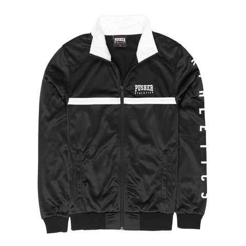 √Athletics Track Jacket Black von Pusher Apparel - Jacket jetzt im Bravado Shop