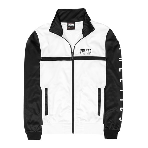 √Athletics Track Jacket White von Pusher Apparel - Jacket jetzt im Bravado Shop