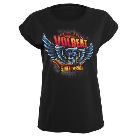 √Dimension Skullwing von Volbeat - Girlie Shirt jetzt im Bravado Shop