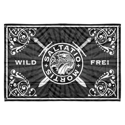 √Wild & Frei Stripes von Saltatio Mortis - Flagge jetzt im Bravado Shop