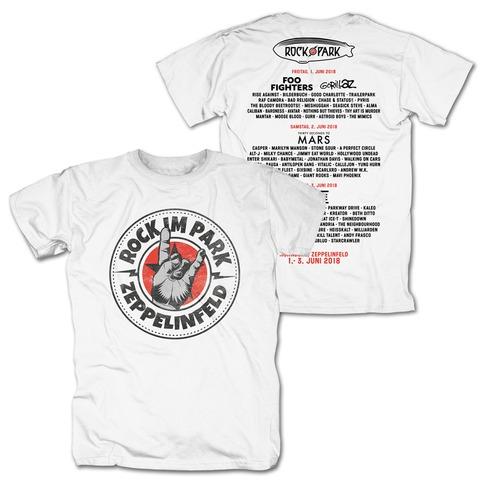 √Rock Hand Round Logo von Rock im Park Festival - T-Shirt jetzt im Bravado Shop