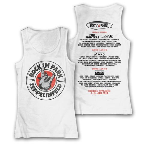 √Rock Hand Round Logo von Rock im Park Festival - Girlie Tank Top jetzt im Bravado Shop