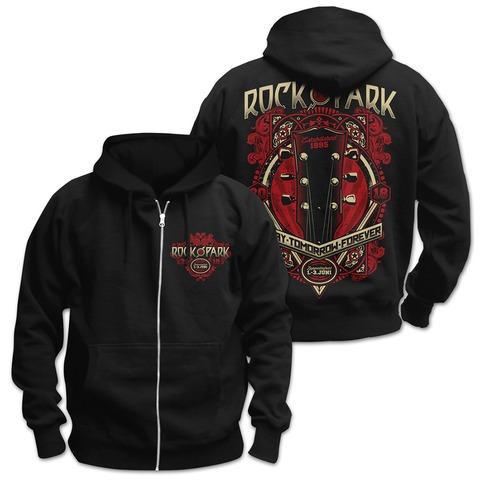 √Guitar Head Ornament von Rock im Park Festival - Hooded jacket jetzt im Bravado Shop