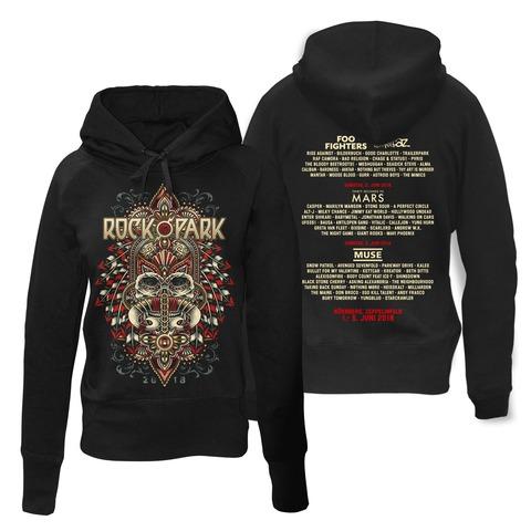 √Rock Headdress von Rock im Park Festival - Girlie hooded sweater jetzt im Bravado Shop