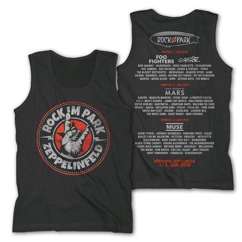 √Rock Hand Round Logo von Rock im Park Festival - Tank Shirt Men jetzt im Bravado Shop
