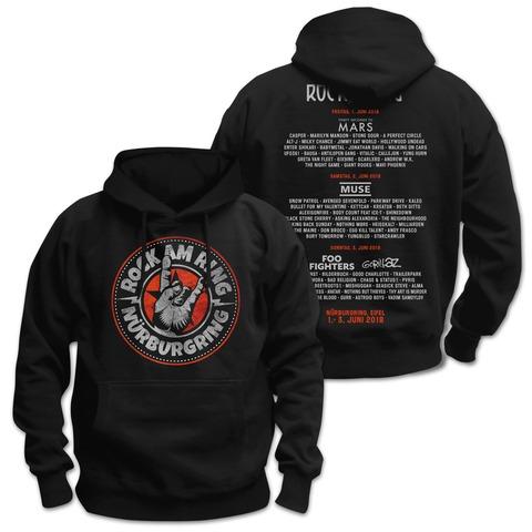 √Rock Hand Round Logo von Rock am Ring Festival - Hood sweater jetzt im Bravado Shop