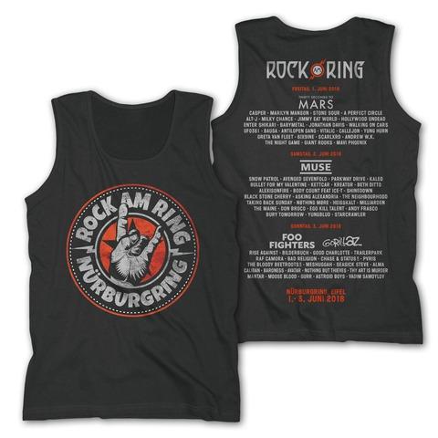 √Rock Hand Round Logo von Rock am Ring Festival - Men's Tank Top jetzt im Bravado Shop