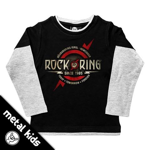 √Logo 2018 von Rock am Ring Festival - Kids Longsleeve jetzt im Bravado Shop