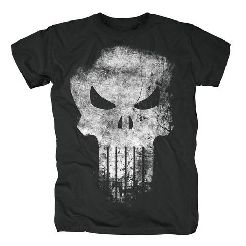√Distressed Skull von The Punisher - T-Shirt jetzt im Bravado Shop