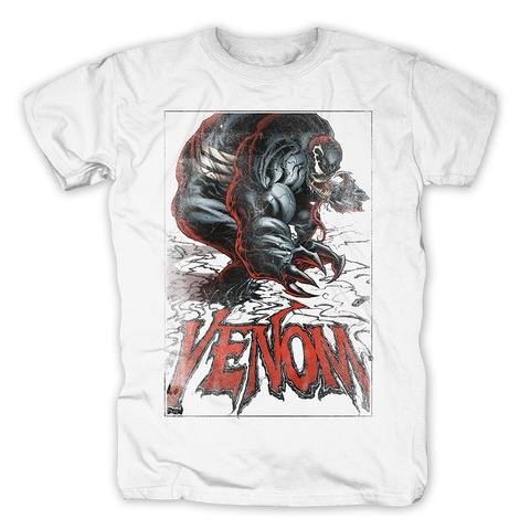 Venom - The Black Suit von Marvel Comics - T-Shirt jetzt im Bravado Shop