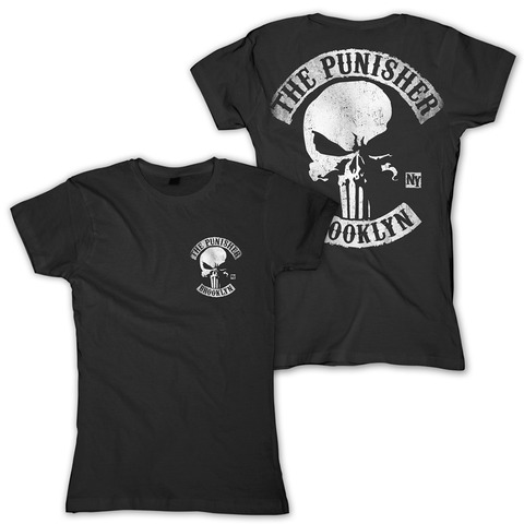 Brooklyn MC von The Punisher - Girlie Shirt jetzt im Bravado Shop