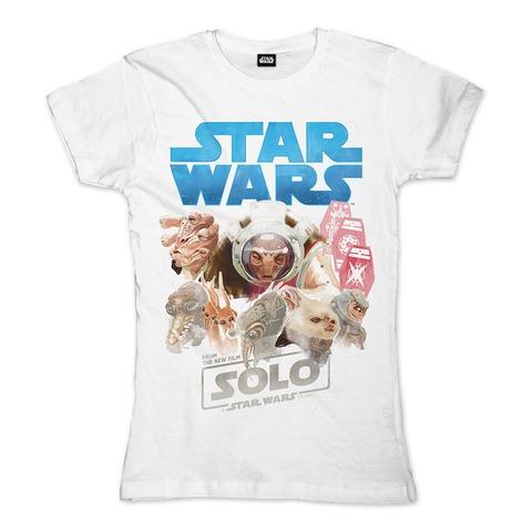 √Solo - Galactic Gamblers von Star Wars - Girlie Shirt jetzt im Bravado Shop