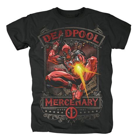 √Mercenary von Deadpool - T-Shirt jetzt im Bravado Shop