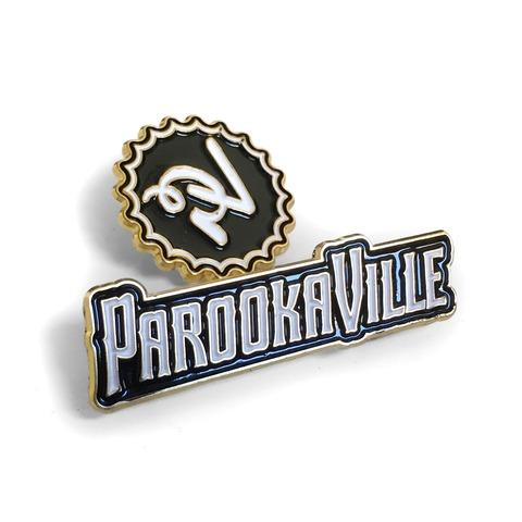 √Logos von ParookaVille Festival - Pin 2er Set jetzt im Bravado Shop