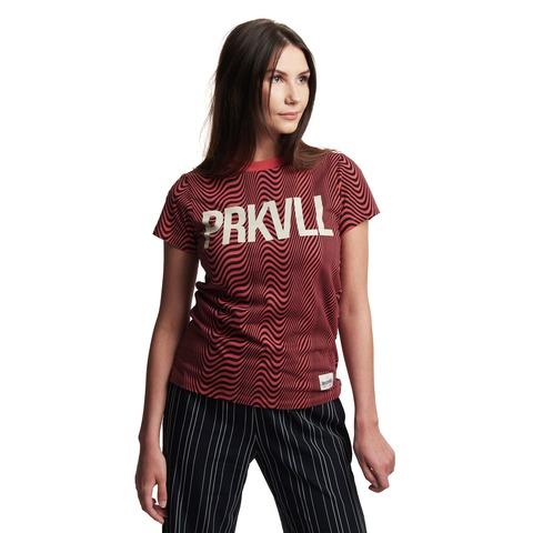 √AO Stripes von ParookaVille Festival - Girlie Shirt jetzt im Bravado Shop