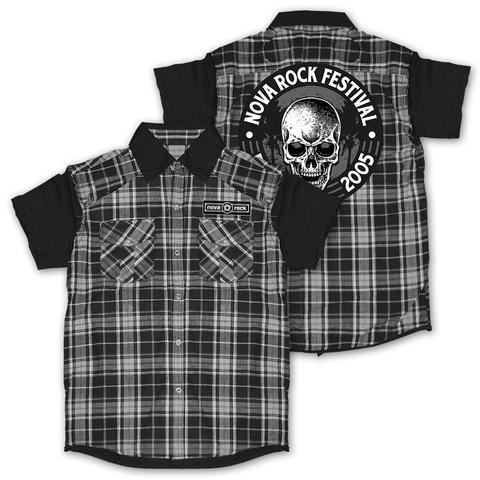 √Palm Skull von Nova Rock Festival - Hemd jetzt im Bravado Shop