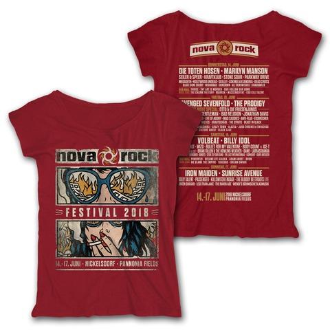 √Smoke N Destroy von Nova Rock Festival - Girlie Shirt jetzt im Bravado Shop