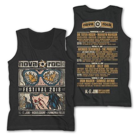 √Smoke N Destroy von Nova Rock Festival - Tank Shirt Men jetzt im Bravado Shop