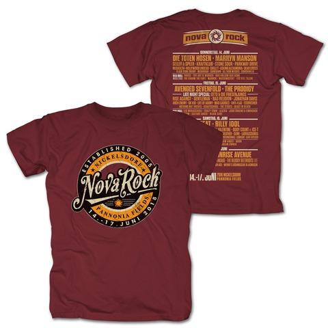 √Retro Badge von Nova Rock Festival - T-Shirt jetzt im Bravado Shop