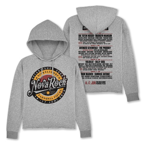 √Retro Badge von Nova Rock Festival - Girlie hooded sweater jetzt im Bravado Shop