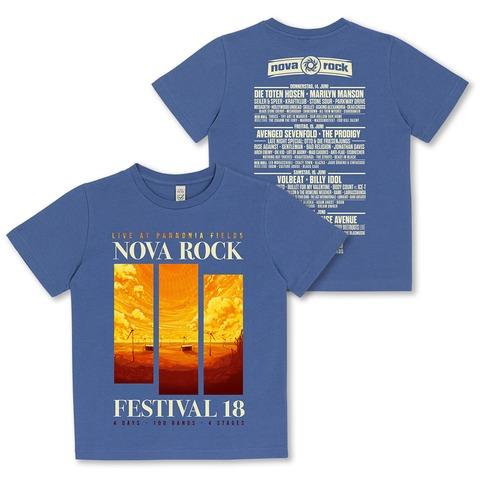 √Sunset Strips von Nova Rock Festival - Kids Shirt jetzt im Bravado Shop