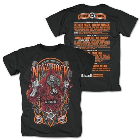 √Reaper von Nova Rock Festival - T-Shirt jetzt im Bravado Shop