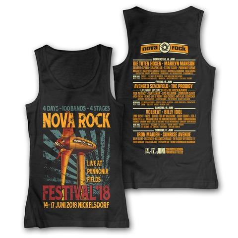 √Live At Pannonia von Nova Rock Festival - Girlie Top jetzt im Bravado Shop
