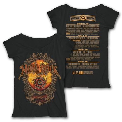 √Mystic Mirror von Nova Rock Festival - Girlie Shirt jetzt im Bravado Shop