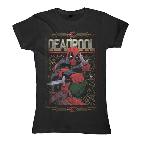√Ready to Fight von Deadpool - Girlie Shirt jetzt im Bravado Shop