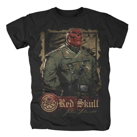 Red Skull - War von Marvel Comics - T-Shirt jetzt im Bravado Shop