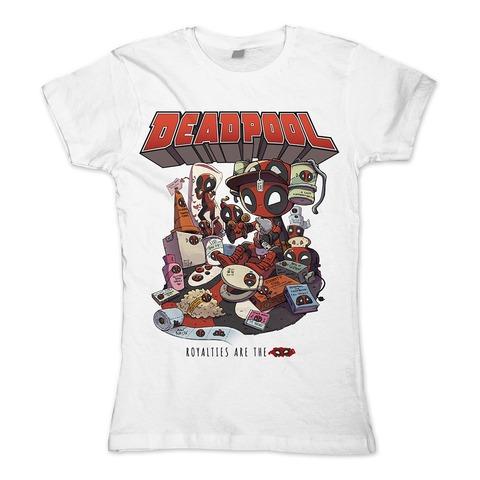 √Royalties von Deadpool - Girlie Shirt jetzt im Bravado Shop