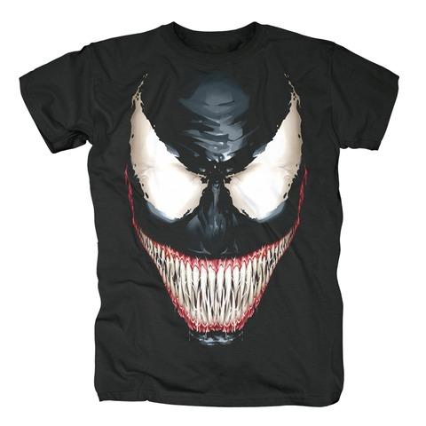 Venom - Big Face von Marvel Comics - T-Shirt jetzt im Bravado Shop