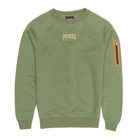 √PUSHER Athletics Zip Sweater von Pusher Apparel - Sweater jetzt im Bravado Shop