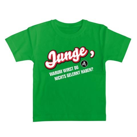 √Junge, warum wirst Du nichts gelernt haben? von die ärzte - Kinder Shirt jetzt im Bravado Shop