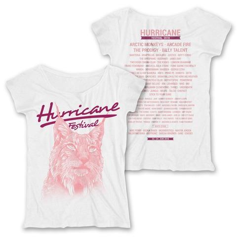 √Light Lynx von Hurricane Festival - Girlie Shirt jetzt im Bravado Shop