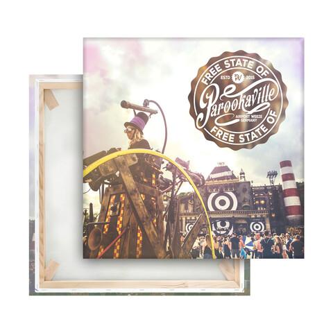 √Free State of von Parookaville Festival - Bild auf Leinwand jetzt im Bravado Shop